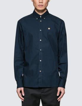 MAISON KITSUNÉ Classic Button Down L/S Poplin Shirt