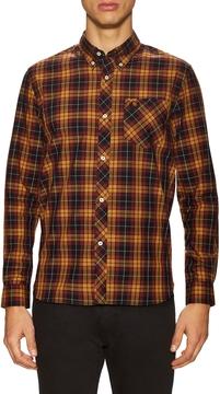 Fred Perry Men's Cotton Tartan Sportshirt