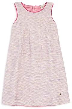 Armani Junior Girls' Sparkle Tweed Dress - Big Kid