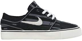 Nike Stefan Janoski Premium Canvas Shoe - Toddler Boys' Black/Dark Grey/White/Wolf Grey (6)