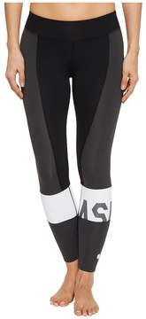 Asics Solution Dye Color-Block 7/8 Tights Women's Workout