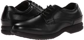 Nunn Bush Sherman Slip Resistant Plain Toe Oxford Men's Lace up casual Shoes