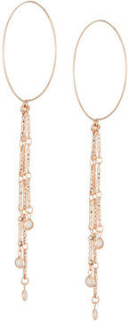 Fragments for Neiman Marcus Hoop Wire Earrings w/ Crystal Drop