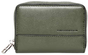 Christopher Kon Olive Tati Small Leather Wallet