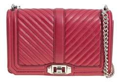 Rebecca Minkoff Women's Red Leather Shoulder Bag. - RED - STYLE