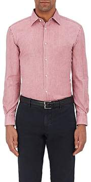Piattelli MEN'S WASHED COTTON OXFORD-CLOTH SHIRT