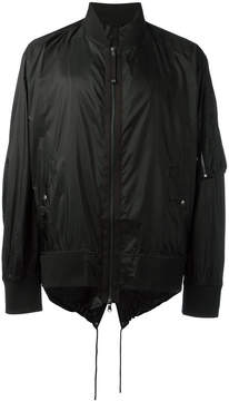 Diesel Black Gold strings bomber jacket