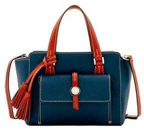 Dooney & Bourke Cambridge Small Shopper Tote. - MIDNIGHT BLUE - STYLE