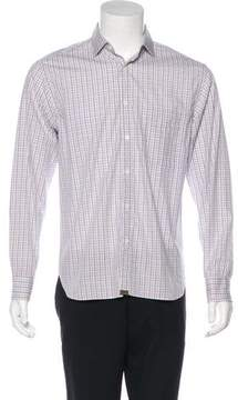 Billy Reid Woven Check Shirt w/ Tags