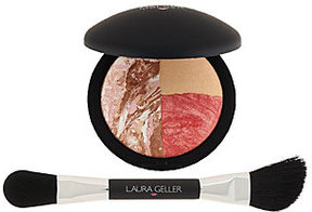 Laura Geller Baked Color & Contour Face Palette with Brush