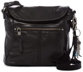 The Sak Esperato Leather Flap Crossbody Bag