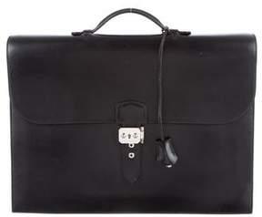 Hermes Sac A Depeche Briefcase
