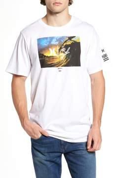Hurley Men's Clark Little - King Kamehameha Graphic T-Shirt