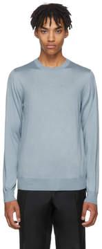 Brioni Blue Crewneck Sweater