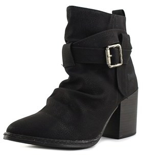 Blowfish Pauline Round Toe Synthetic Bootie.