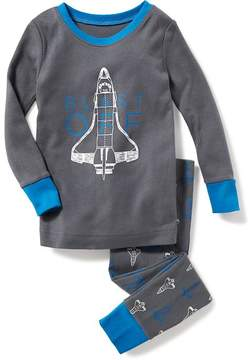 Old Navy 2-Piece Spaceship-Graphic Sleep Set for Toddler & Baby