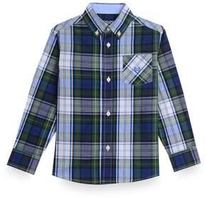 Chaps Boys 8-20 Plaid Button-Down Shirt