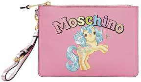 Moschino Small Little Pony Printed Pouch