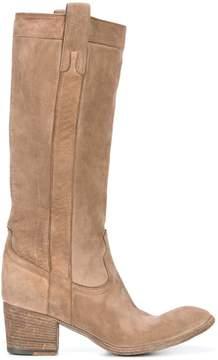 Fauzian Jeunesse' Fauzian Jeunesse worn look boots