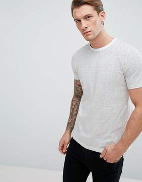New Look T-Shirt With Stripe In White