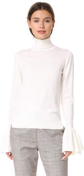 ADAM by Adam Lippes Bell Sleeve Turtleneck
