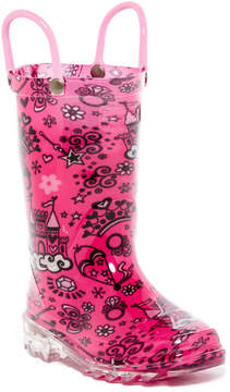 Western Chief Palace Party Light-Up Rain Boot (Toddler & Little Kid)