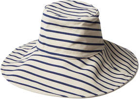 Hat Attack Reversible Sunhat in Navy White