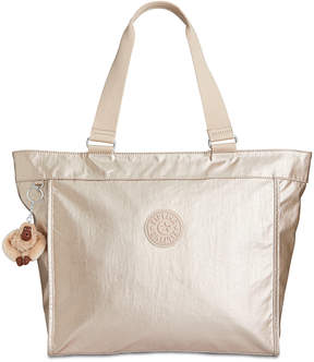 Kipling Large Shopper Tote, Created for Macy's - SPARKLY GOLD/SILVER - STYLE
