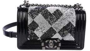 Chanel Small Sequin Boy Bag