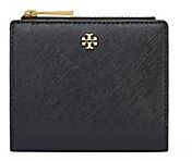Tory Burch Robinson Mini Wallet - BLACK - STYLE