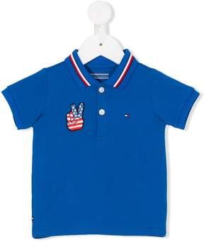 Tommy Hilfiger Junior logo polo shirt