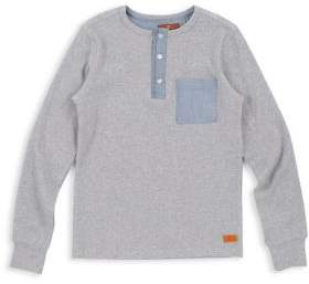 7 For All Mankind Little Boy's Long Sleeve Henley