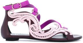 Versace Baroque embellished sandals