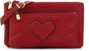 Sam Edelman Women's Jenna Heart Crossbody Bag