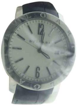 Bulgari BB41 S Stainless Steel Automatic Mens Watch