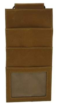 Piel Leather HANGING TRAVEL WALLET