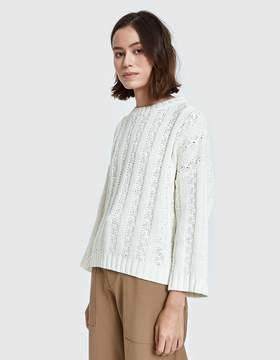Which We Want Bailey Sweater in Ivory