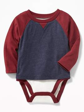 Old Navy 2-in-1 Color-Blocked Bodysuit for Baby