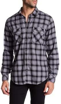 James Campbell Raul Plaid Long Sleeve Regular Fit Shirt