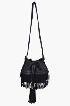boohoo Fringed Tassel Duffle Bag