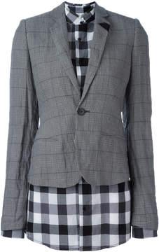 A.F.Vandevorst layer fitted blazer