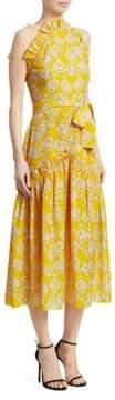 DAY Birger et Mikkelsen Borgo de Nor Dora Sleeveless Ruffle Midi Dress