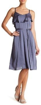 Chelsea28 Belted Satin Slip Dress
