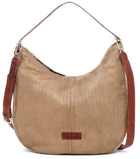 Liebeskind Berlin Chatsworth City Snake Embossed Hobo Bag