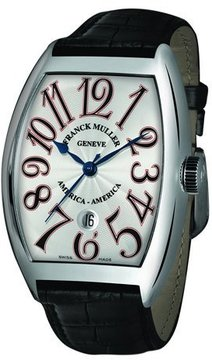 Franck Muller Men's Limited Edition USA Curvex Watch with Alligator Strap