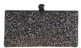 Jimmy Choo Women's Multicolor Glitter Clutch.