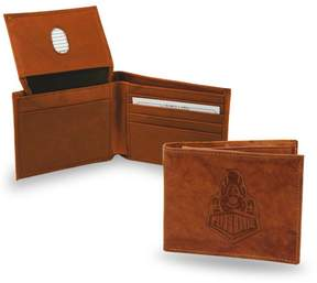 Rico NCAA Embossed Leather Billfold Wallet - Purdue