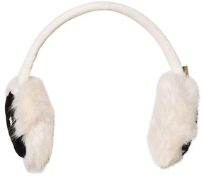 Barts White Smiley Face Candy Earmuffs