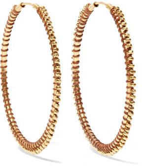 Chan Luu Gold-plated Hoop Earrings