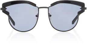 Karen Walker Superstar Felipe Cat-Eye Acetate Sunglasses